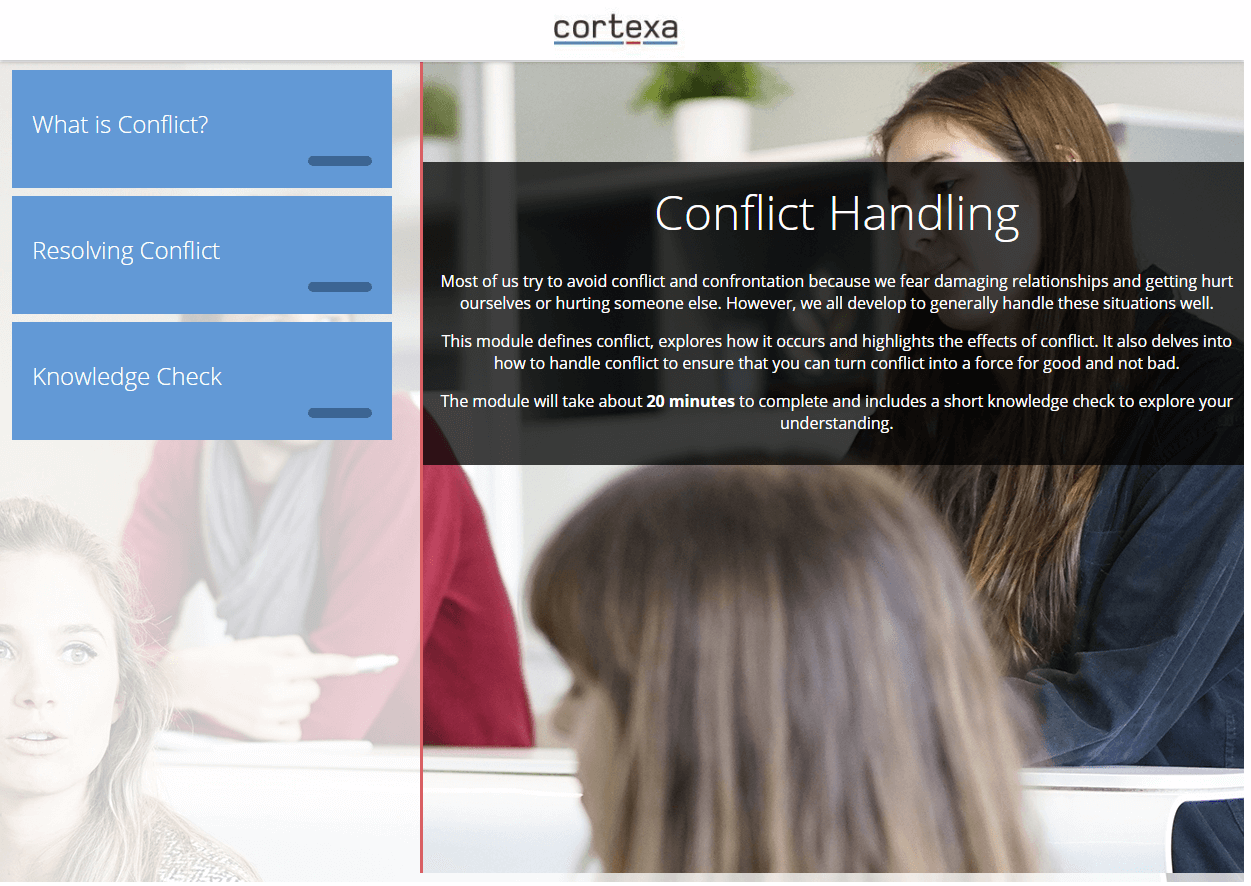 Conflict Handling eLearning