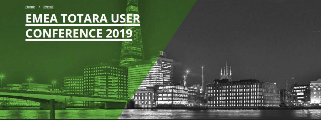 EMEA Totara User Conference